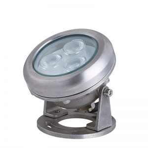 3W Die-Cast stainless steel Constructed Underwater Lamp CE,IP68