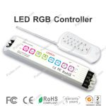 Small Remote Fountain RGB ,RGBW Lighting Controller