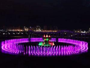 阿斯塔納大型音樂噴泉
