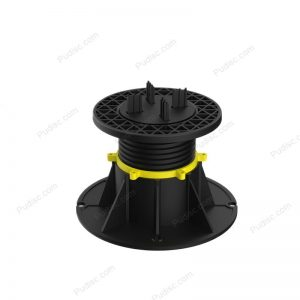 PVC Roof Adjustable Flooring Paver with Joist Plastic Cradles Decking Pedestal